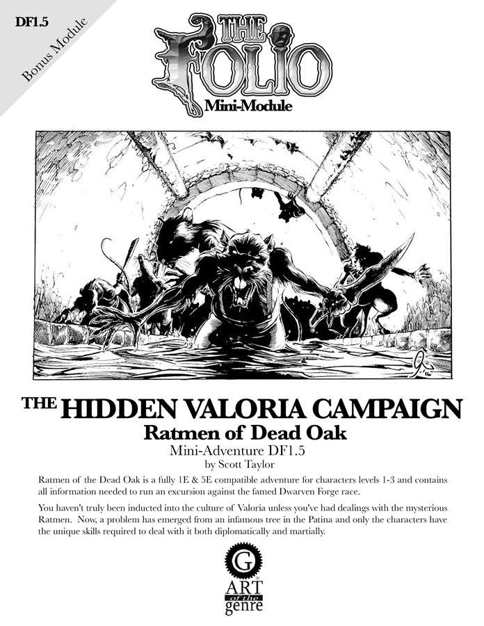 Cover of DF1.5 Ratmen of the Dead Oak