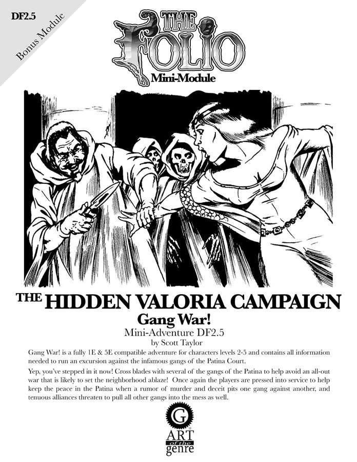 Cover of DF2.5 Gang War!