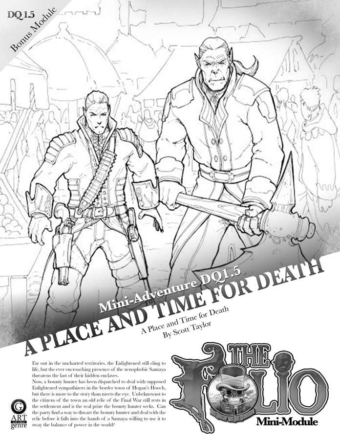 Cover of DQ1.5 A Place and Time for Death