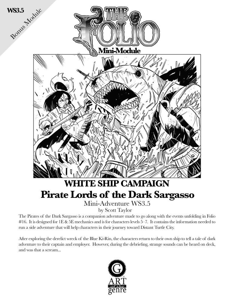 Cover of WS3.5 Pirate Lords of the Dark Sargasso
