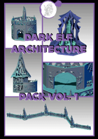 3D scenery - Drow Architecture