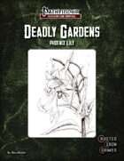 Deadly Gardens Volume 1: Phoenix Lily