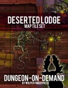 Deserted Lodge Dungeon-On-Demand Map Tile Set