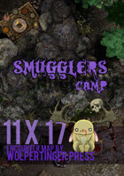 Wolpertinger Press - Smuggler's Camp (Encounter Map)
