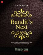 Bandit's Nest (Level 1 PCs)