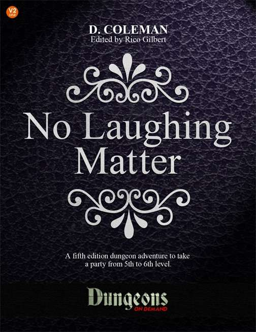 Cover of No Laughing Matter