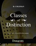 Classes of Distinction