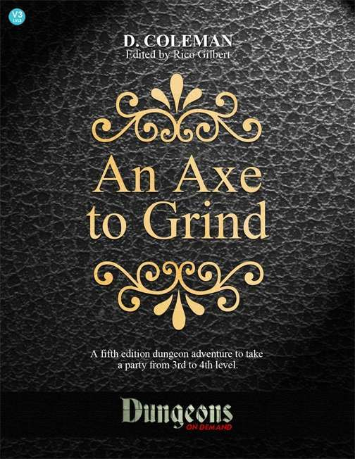Cover of An Axe To Grind