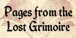 Pages from the Lost Grimoire