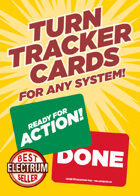 Turn Tracker Initiative Cards