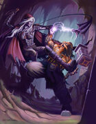 Drow vs Dwarf- full page