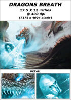 Cover full page - Dragons Breath - RPG Stock Art