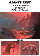 Cover full page - Giant's Rest - RPG Stock Art