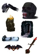 Spot Art - Horror Bundle - RPG Stock Art