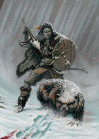 Orc Huntress - RPG Stock Art
