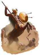 Character - Centaur - RPG Stock Art