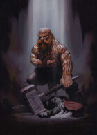 Cover full page - Dwarf Victor - RPG Stock Art