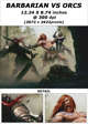 Cover full page - Barbarian vs Orcs - RPG Stock Art