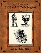 Catalogue - Line Art Spot Fillers - RPG Stock Art