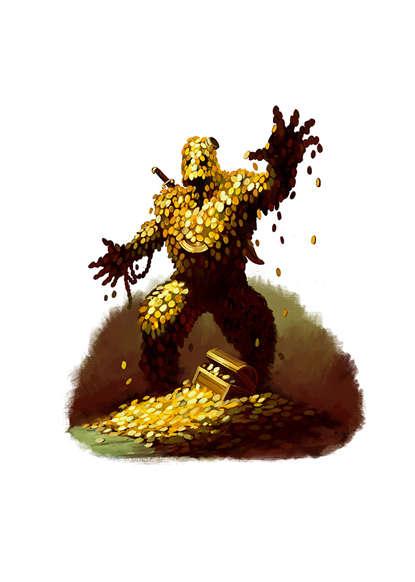 Treasure Golem 5e