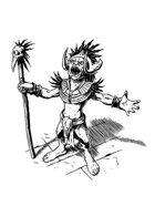 Filler spot - goblin shaman - RPG Stock Art