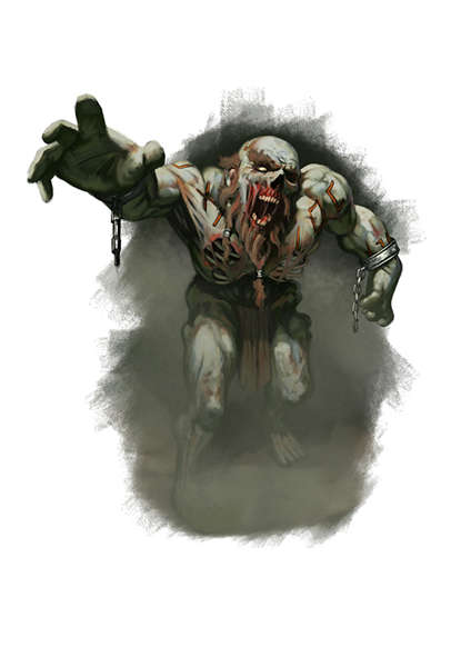 Filler spot colour - character: zombie dwarf - RPG Stock Art - Dean Spencer  Art | Filler Spot Color Art | DriveThruRPG com