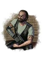Filler spot colour - character: biker junkie - RPG Stock Art