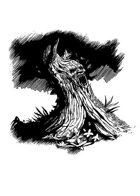 Filler spot - environment: screaming tree- RPG Stock Art