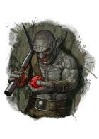 Filler spot colour - character: deep gnome - RPG Stock Art