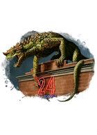 Filler spot colour - creature: genetically engineered beast - RPG Stock Art