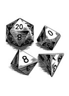Filler spot - items: dice set - RPG Stock Art