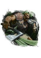 Filler spot colour - character: ogre tank - RPG Stock Art