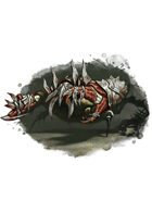 Filler spot colour - golem: twisted metal and flesh - RPG Stock Art