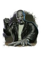 Filler spot colour - character: wraith genome biker - RPG Stock Art
