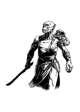 Filler spot - character: ogre warrior - RPG Stock Art