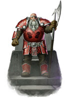 Character - Dwarf King - RPG Stock Art