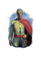 Filler spot colour - character: emere noble - RPG Stock Art