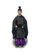 Filler spot colour - character: japanese shinto chief priest - RPG Stock Art