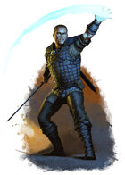 Character - Draer Warden - RPG Stock Art