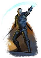 Character - Draer Warden - RPG Stock Art