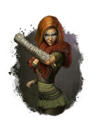 Filler spot colour - spell: stoneskin - RPG Stock Art