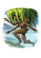 Filler spot colour - character: treant - RPG Stock Art