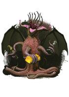 Filler spot colour - character: elder thing - RPG Stock Art