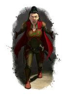 Filler spot colour - character: psionic - RPG Stock Art