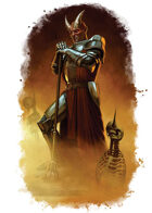 Character - Demon Knight - RPG Stock Art
