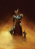 Cover full page - Demon Knight - RPG Stock Art