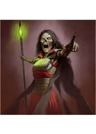 Colour card art - character: lich - RPG Stock Art