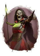 Filler spot colour - character: lich - RPG Stock Art