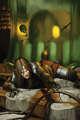 Quarter page - gelatinous cube escape - RPG Stock Art
