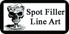 Filler Spot Line Art